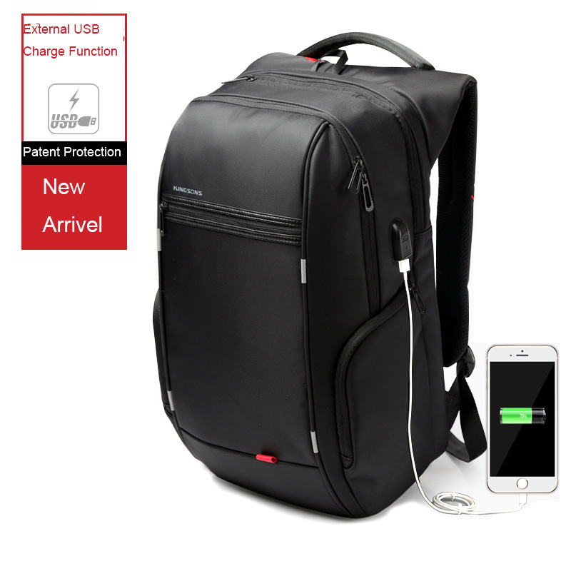 External USB Charge Computer Bag Anti-theft Notebook Backpack 15.6''/17 inch Waterproof Laptop Backpack for Men Women brand external usb charge computer bag anti theft notebook backpack 15 17 inch black waterproof laptop backpack for men women