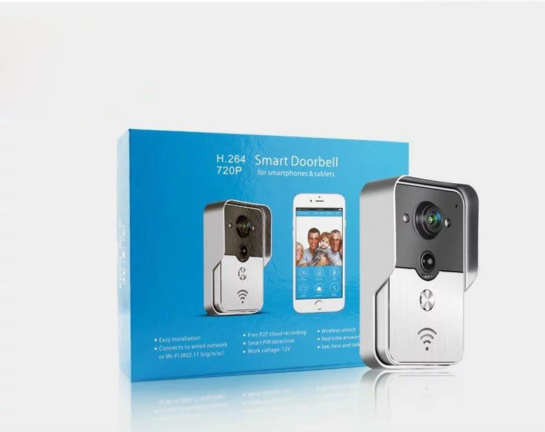 Wireless 720p WIFI Doorbell With Indoor Bell Video Door Phone -in ...