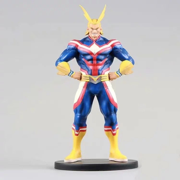 My Hero Academia Bakugou All Might Action Figures Toy Boku No Hero Academia Anime Figurine All Might Diorama Brinquedos