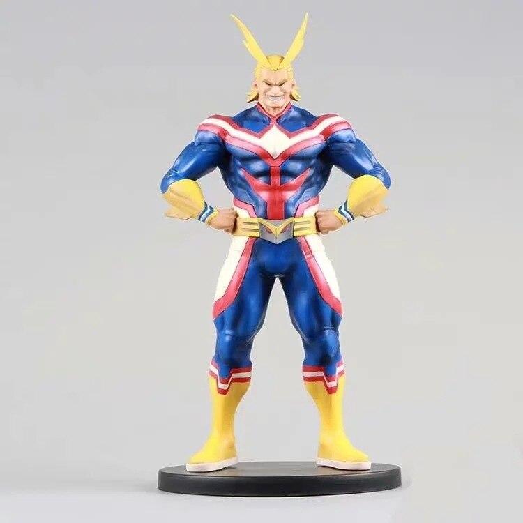 O meu Herói Academia Bakugou Toda a Força de Ação Toy Figuras Boku nenhum Herói Academia Anime Estatueta Tudo Pode Brinquedos Diorama