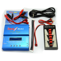 IMAX B6AC 80W 6A Dual RC Lipo Battery Balance Charger Discharger XT60 Parallel Charging Power Adapter