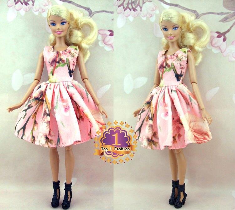 Usine en gros 50 ou 100 pcs / lot Mini robe jupe de mode pour poupée - Poupées et accessoires - Photo 4