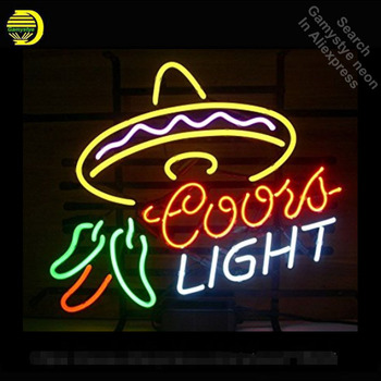 Coors Light Cayenne Cushaw neon Sign Glass Tube neon lights Recreation Windows Professional Iconic Sign Advertise Art Motel Sign