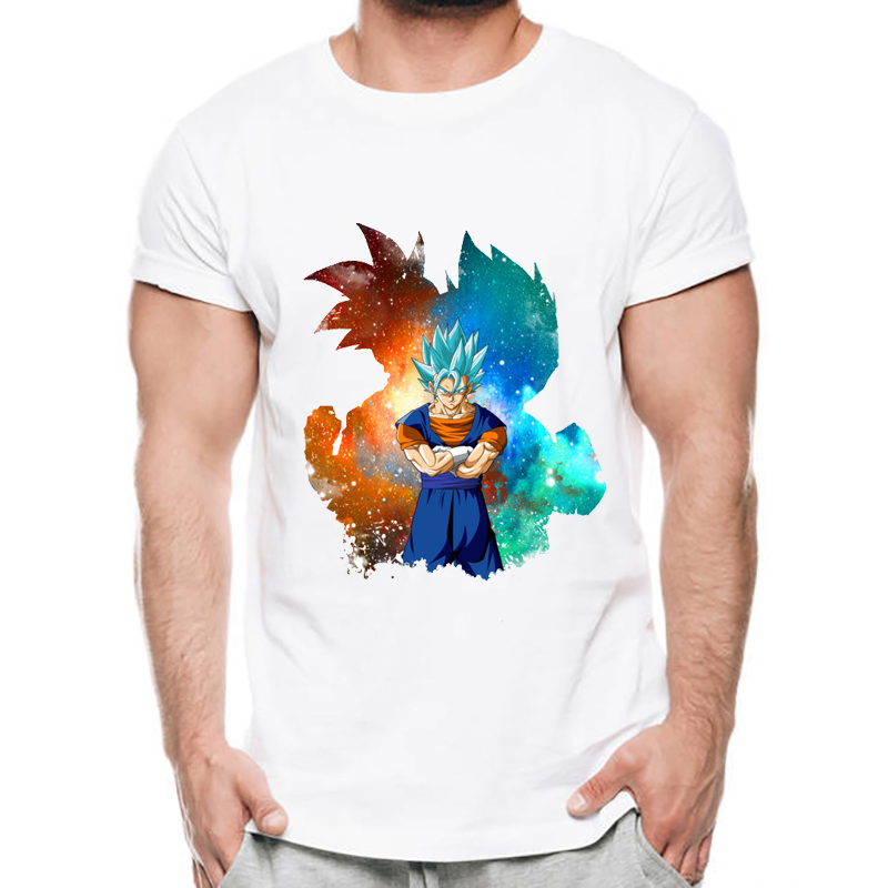Dragon Ball T Shirt Men Summer Dragon Ball Z Super Son Goku Vegeta T-Shirts Casual DragonBall Tshirt Homme ...