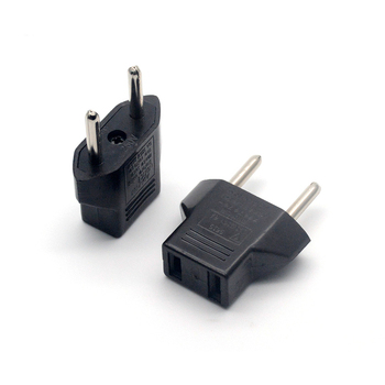 1/2/5Pcs Universal US to EU Plug Adapter USA Euro Europe Travel AC Power Charger Outlet Converter
