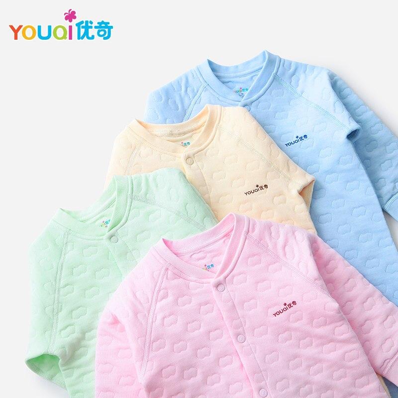 Youqi детская одежда унисекс мальчик Комбинезоны для малышек комбинезон для девочек Костюмы зима Нижнее Бельё для девочек ясельного возраста... ...