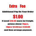 Additional Pay On Your Order-The Link For Extra Shipping Fees And Extra Stuff Fees Only