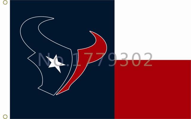 NFL Houston Texans Flag 3ft X 5ft 100% Polyester Patio, Lawn U0026 Garden  Outdoor