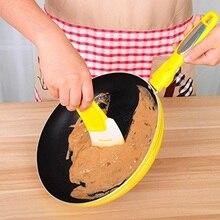 1 шт. силиконовые антипригарные масляные скребок для горшка маслораспылитель кухонные принадлежности