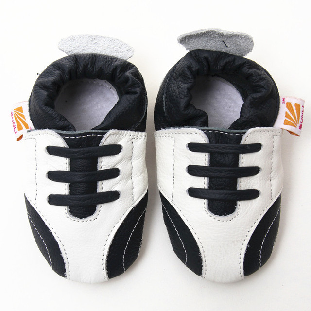 Cow Leather Baby Shoes Moccasins Newborn Baby Shoes For Girls Anti-Slip Slippers Soft Infant Shoes Toddler Kids Shoes Boys 0-2y
