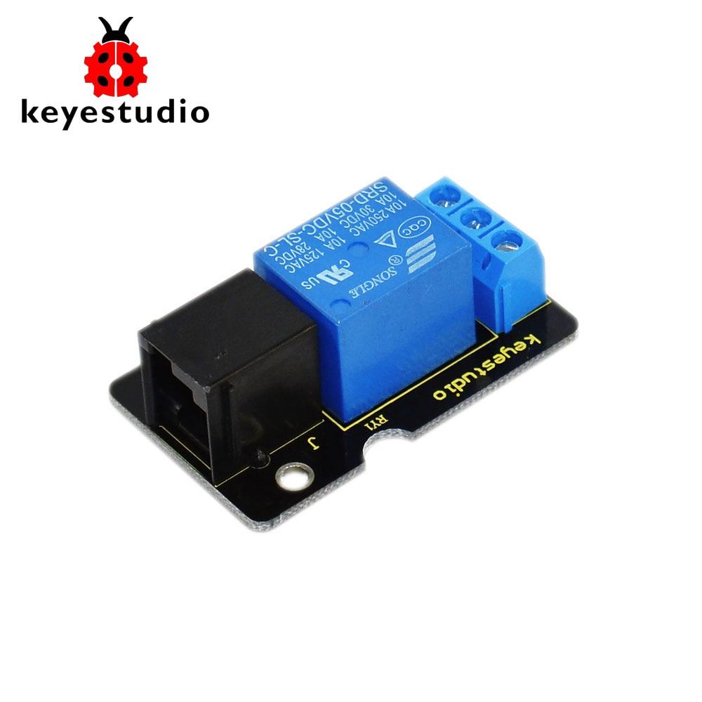 2016 New! Keyestudio EASY plug Single Relay Module for arduino
