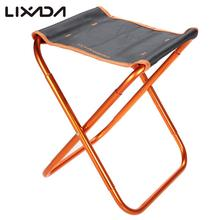 Portable Folding Fishing Chair Seat Outdoor Lightweight Foldable Chair Camping Fishing Stool for Picnic Beach Chair