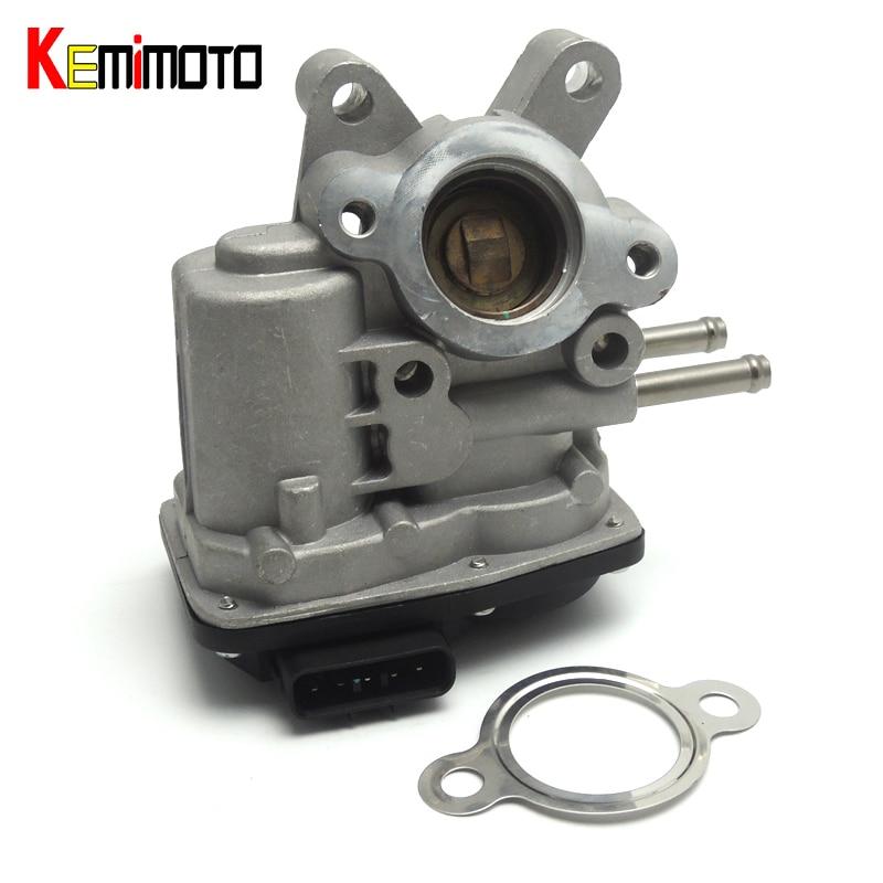 KEMiMOTO EGR Valve for Nissan Navara D40 NP300 2.5dCi, 2.5Di 2008-2016 EGR for Nissan Pathfinder R51 14710-EC00B ...