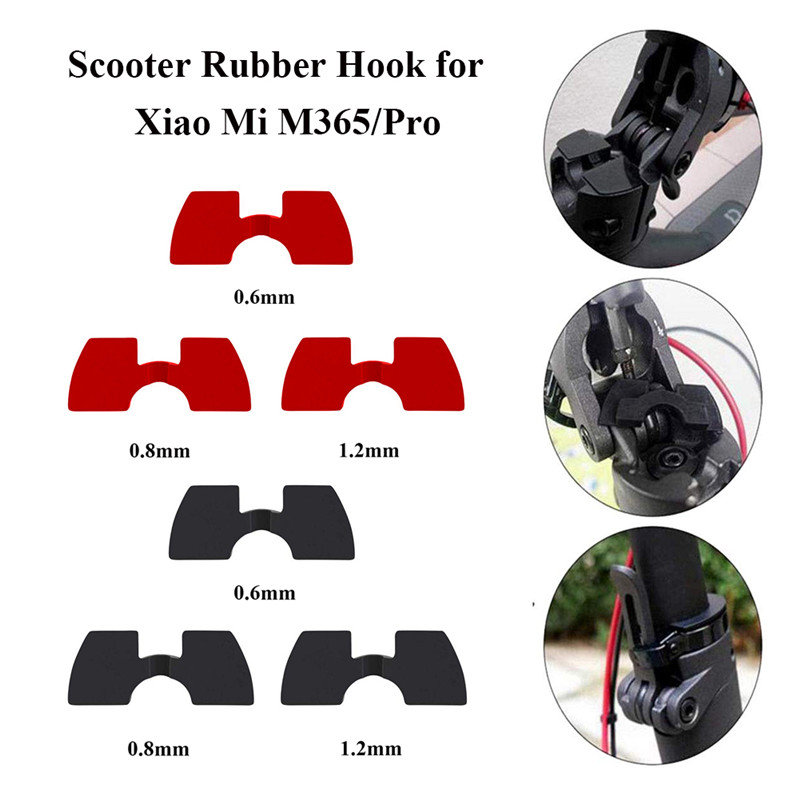 3pcs Anti Slack Protection Wear Cable Electric Vibration Damper Cushion Scooter Accessories Rubber Durable For Xiaomi M365