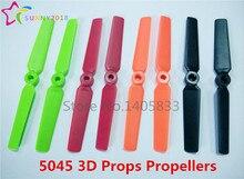 24pcs 12Pair 5045 3D Props Bullnose Propellers For FPV Mini QAV250 ZMR 250 270 280 Quadcopter