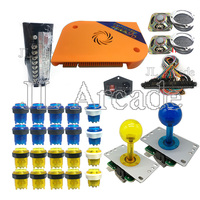 Arcade Game DIY kit Pandora Box 9d Jamma board 2222 in 1 with power supply joystick LED button For video game cabinet machine
