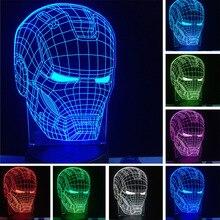 Lampka 3D Avengers Iron Man