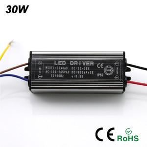 Image 3 - YNL LED Sürücü 10W 20W 30W 50W adaptör transformatörü AC100V 265V DC 20 38V Yüksek kaliteli Anahtar Güç Kaynağı IP67 Projektör Için