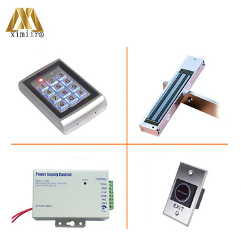 Cheap Price Metal Face Waterproof Single Door Lock Door Access Control Standalone 125KHz Card Door Access Control M01 Kit