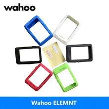 Tampa Da Caixa Do Silicone e Protetor de Tela Universal para Wahoo Elemnt Mini Moto GPS Computador Caso Manga