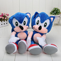 19'' Sonic the Hedgehog Super Big Plush Toy Cosplay Costume Soft Stuffed Doll retail