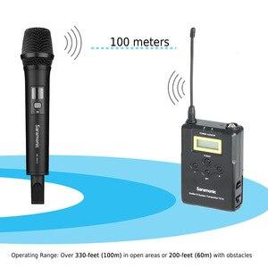 Image 3 - Saramonic Uwmic15A UHF אלחוטי כף יד ראיון מערכת מיקרופון להקלטת וידאו, ניקון, Canon