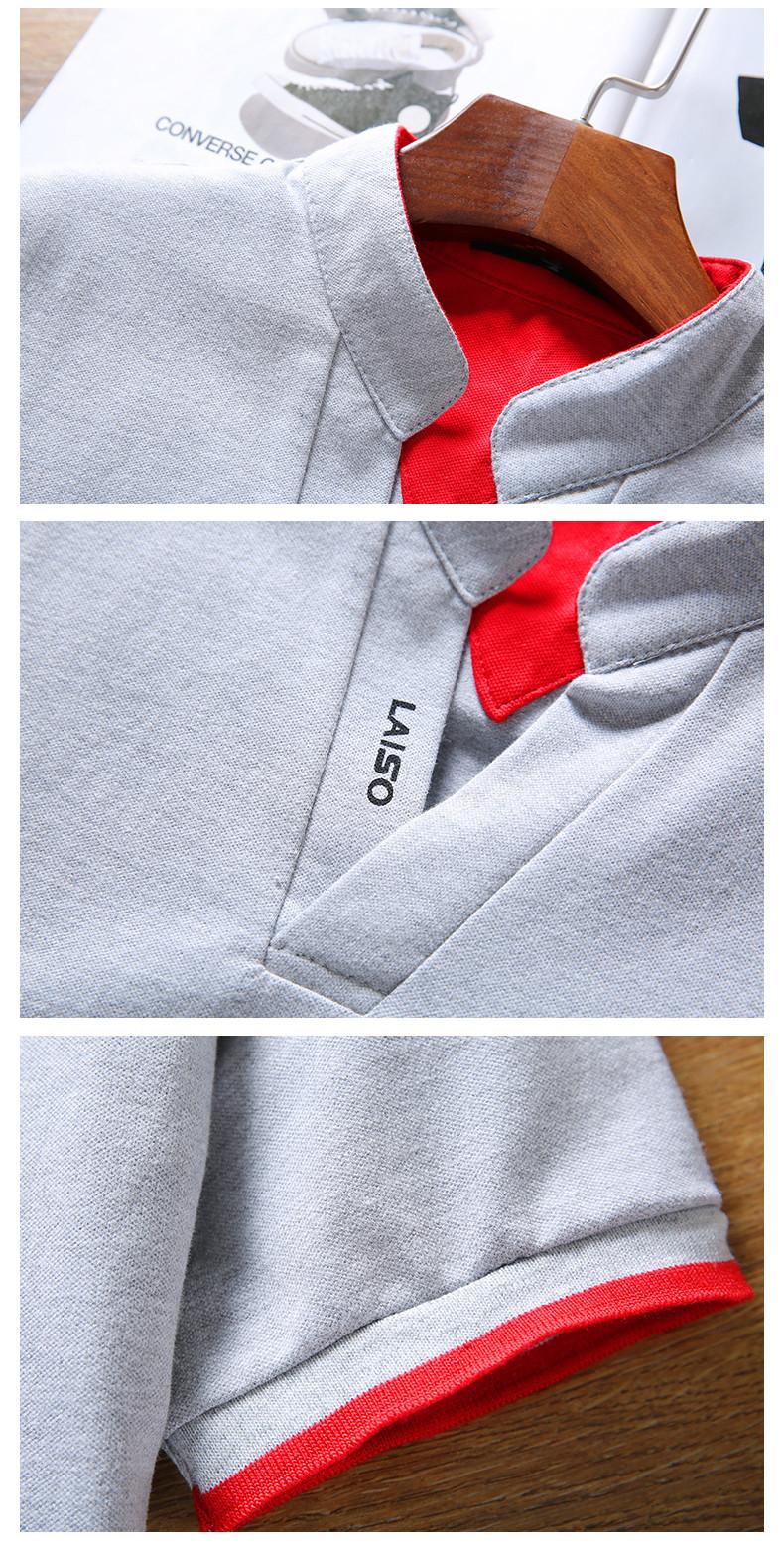 2019 New Arrival Cotton Men Polo Shirt Tops Fashion Brand Plus Size Short Sleeve Black White Polo Shirt Homme Camisa 5XL 22