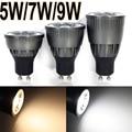 5pcs wholesale 5w/7w/9w LED COB SpotLight Bulb GU10 Cool White/Warm White dimmable AC85-265V lamp Lighting Epistar