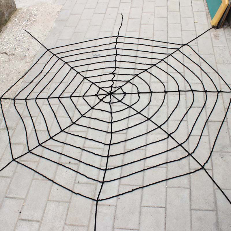new creepy huge spider web halloween decoration party supplies gifts black white 15m cloth halloween - Spider Web Halloween Decorations