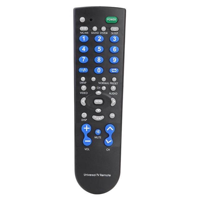 高品質1個テレビリモコンポータブルスーパーバージョンコントローラーセットled液晶ワイヤレステレビ制御リモートユニバーサル
