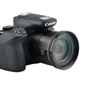 Image 4 - المعادن حربة إلى 58 مللي متر موضوع الأشعة فوق البنفسجية مرشح CPL جبل كاميرا محول عدسات لكاميرا كانون Powershot SX520 SX40 SX50 SX60 SX70 HS