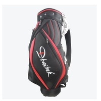 Nylon Golf Bag Standard Size 5 Divisions Full Set Clubs Golf Bag with Belt Last Stock Promotion