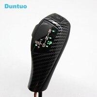 For BMW E46 E39 E60 E90 E92 E82 E87 E38 E84 E83 E53 E86 E89 LED Gear Shift Knob Automatic LHD RHD Carbon Fiber Color