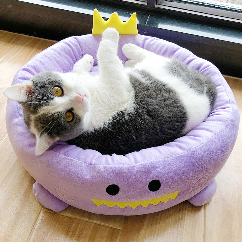 Cat Bed Winter House For Cat Warm Cotton Dog Pet Products Mini Puppy Pet Dog Bed Pet House Kennel For Puppy Cat Pet Dog Supplie