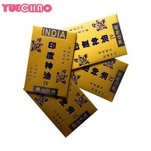 YUECHAO 1 Pieces Indian god oil wipes Sex toys for men Premature Prevent Prolong Ejaculation Lasting Delay Wipe Penis Afrodisiac