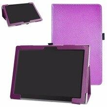Чехол для планшета Lenovo Miix 630 11,6 дюйма, складная подставка, чехол из искусственной кожи с магнитной застежкой