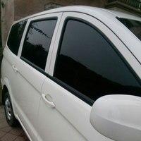 0 5X3 M Dark Black Car Window Film Foils Solar Protection Car Sticker For Auto Window