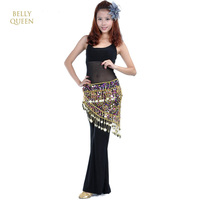 New Style Belly Dance Costume Costume Indian Dance Belt Waist Chain Hip Scarf  Golden Coins Sequins Tassels Belly Dance Chain