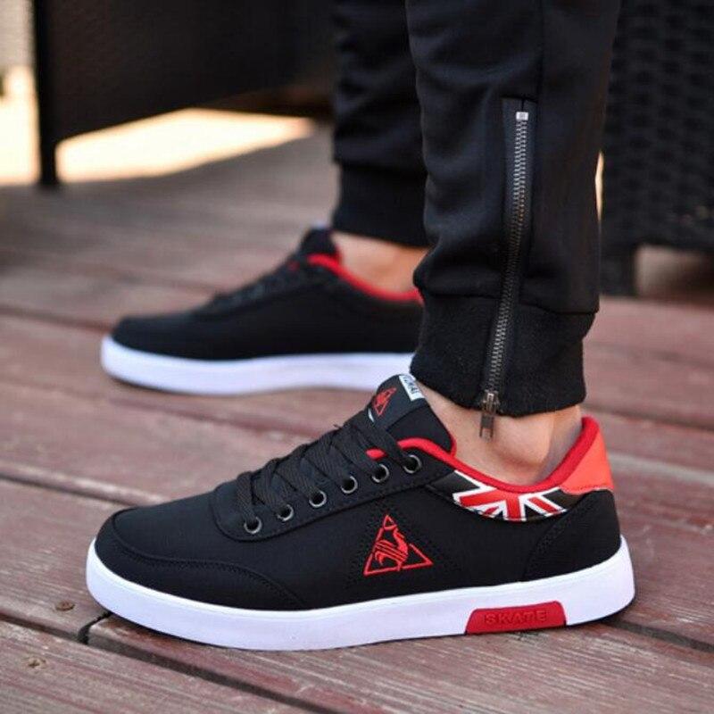 b2d27eb6 Hemmyi para Hombre Zapatos casuales zapatos de otoño transpirable Luz de  calzado de moda blanco de