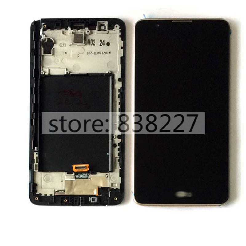 ФОТО LCD pantalla For LG LS775 K520 LCD Display Digitizer with TouchScreen + frame in silver and golden assembly