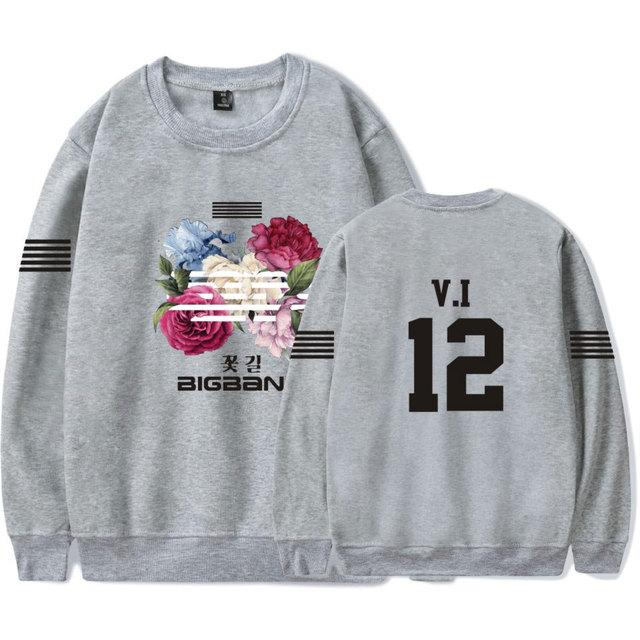 Bigbang big bang bangtan hoodie kpop korean harajuku hoodies sweatshirt moletom feminino fashion brand tracksuit plus size 4xl