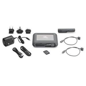 Image 2 - LaCie DJI Copilot BOSS LACSTGU2000400 Computer Free in Field Direct Backup 2TB Rugged Hard Drive and Power Bank with SD Reader