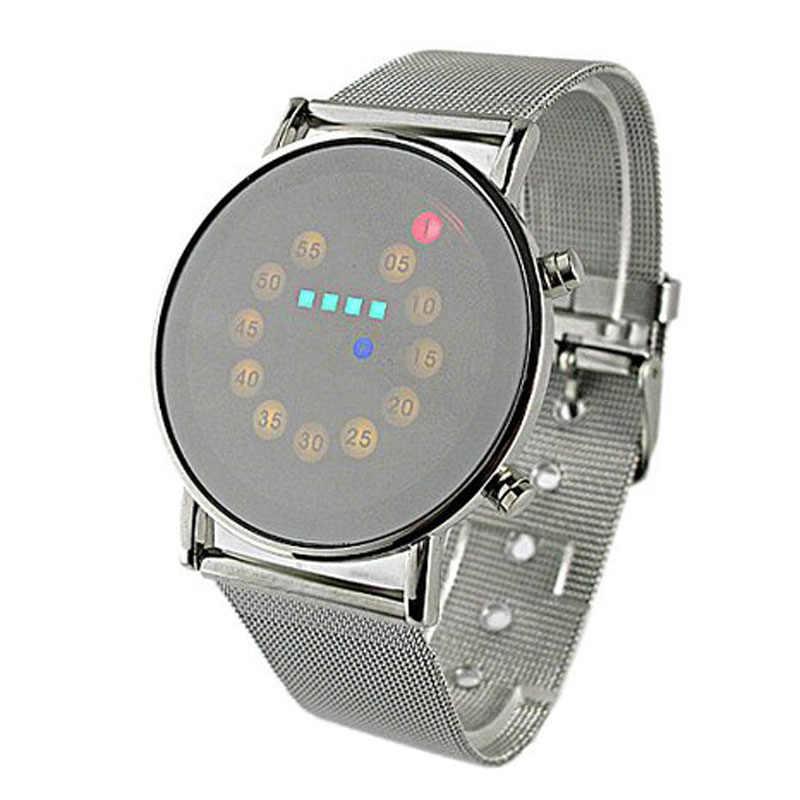Nouveauté nouveauté montre numérique hommes LED hommes montre Sport montre reloj hombre montre homme brasalete hombre relogio numérique nouveauté