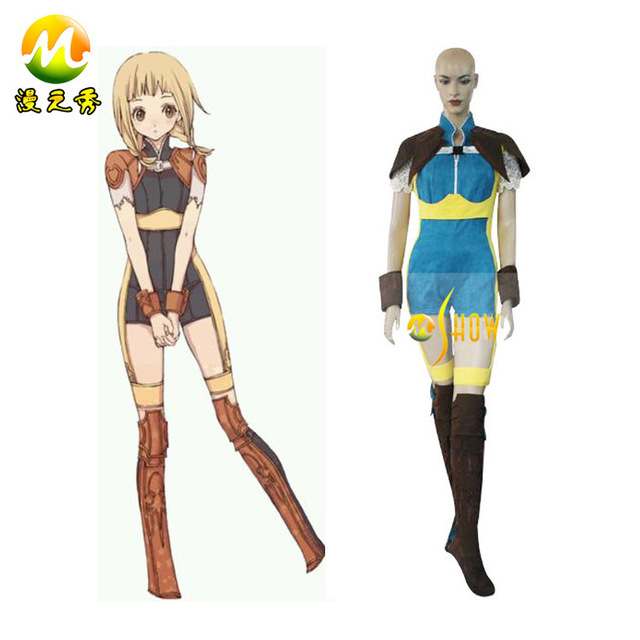 Anime Cosplay Final Fantasy XII 12 Penelo Costumes Free Shipping Halloween Costume