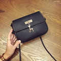 LEFTSIDE 2016 New PU Soft Leather Women Handbag Long Strap Women's Shoulder Messenger Small Bag Handbags-china For Girls