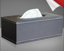 Business household imitation leather tissue boxes European creative personalized fashion high grade pumping box