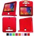 Дети Ударостойкой Case For Samsung GALAXY Tab 3 4 10.1 дюймов T530 p5200 Tablet для детей Сумочка Совершенное Надежную Защиту крышка + ручка + otg