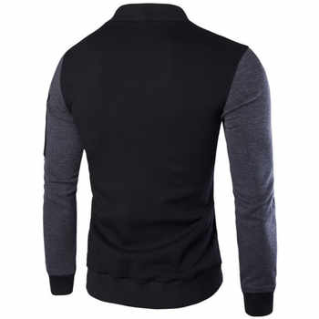 2017 New Design Men Sweatshirts Casual Slim Fit Bomber Jacket Size M-3XL Autumn Brand Fashion Wind Mens Hoodies Coats XXXL X497