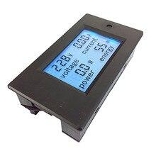PZEM-021 20A AC 80~260 Multifunctional Voltage Current Active Power Energy 110V-220V LCD Digital Tester Meter Module стоимость