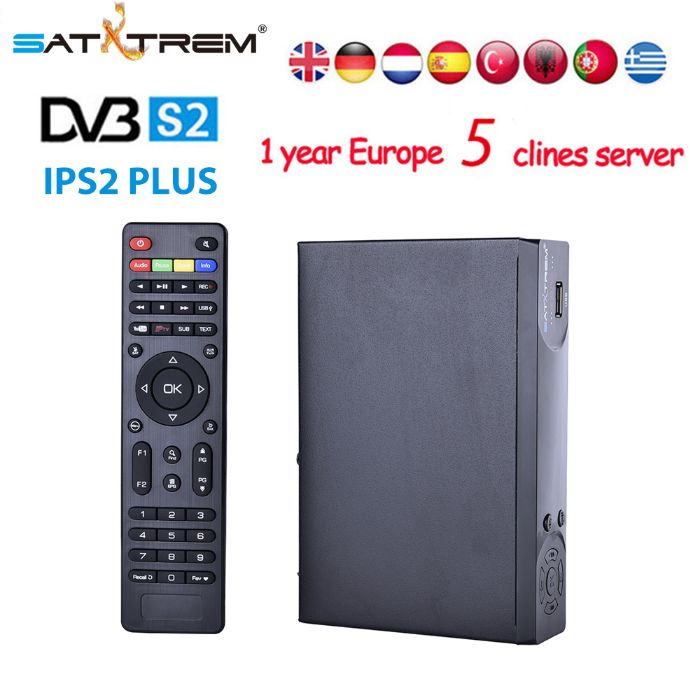 Best iptv box IPS2 PLUS DVB-S2 Satellite TV Receiver+usb wifi for 1 Year Europe clines Support PowerVu Bisskey Youtube Youporn best hd iptv box ips2 plus dvb s2 tv receiver 1 year europe iptv 2500 channels dvb s2 usb wifi set top box satellite receiver